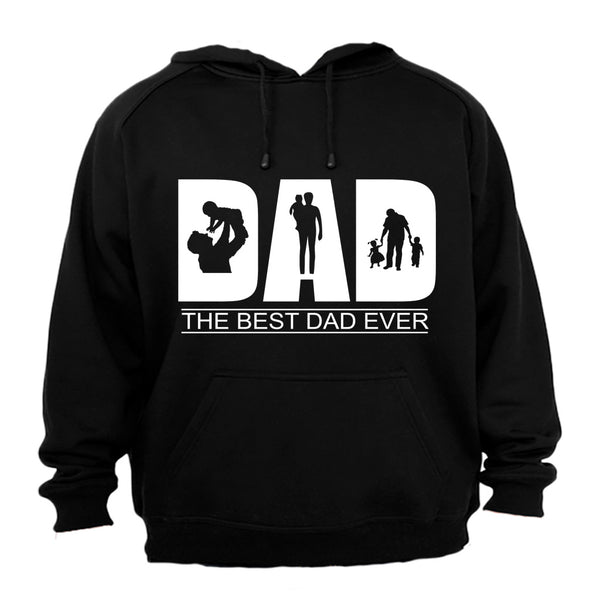 DAD - The Best Dad Ever - Hoodie - BuyAbility South Africa
