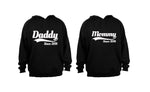 Mommy & Daddy Since 2018 - COUPLES HOODIES (1 SET)