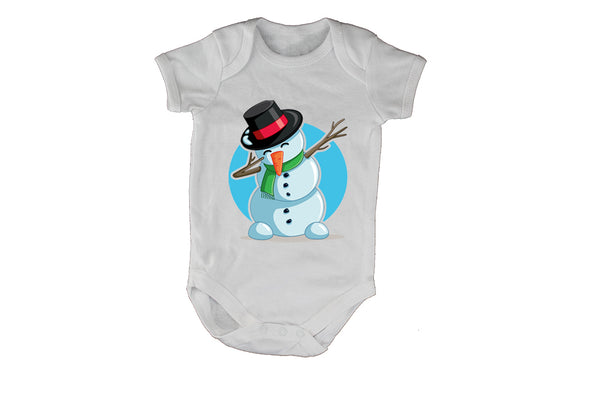 Dancing Christmas Snowman - Baby Grow - BuyAbility South Africa