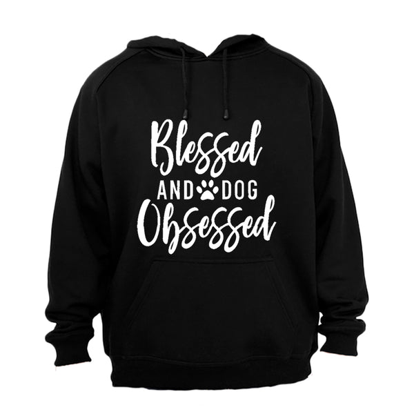 Blessed & Dog Obsessed - Hoodie - BuyAbility South Africa