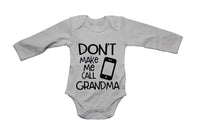 Don't Make Me Call Grandma - Babygrow - BuyAbility South Africa