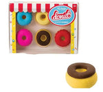 Scented Donut Erasers – 6 Piece