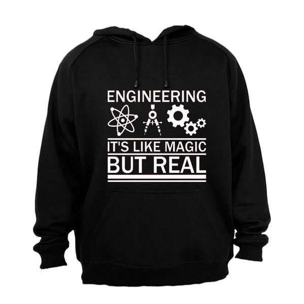 Engineering, It's Like Magic - Hoodie - BuyAbility South Africa