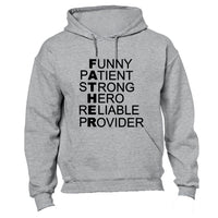 Definition of Father! - Hoodie - BuyAbility South Africa
