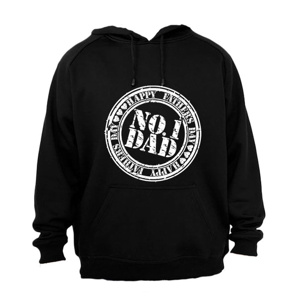 Fathers Day - No. 1 DAD - Hoodie - BuyAbility South Africa