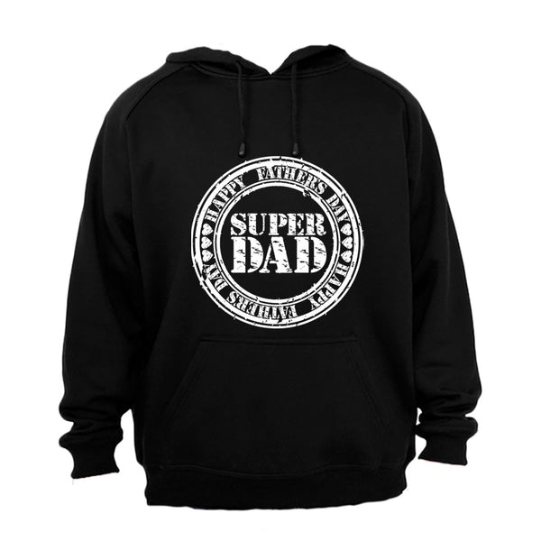Fathers Day - Super DAD - Hoodie - BuyAbility South Africa