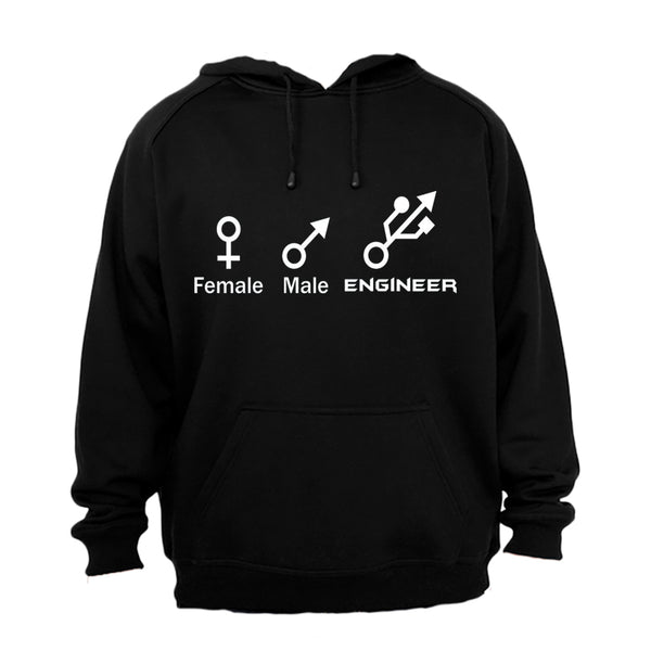Female. Male. Engineer - Hoodie - BuyAbility South Africa