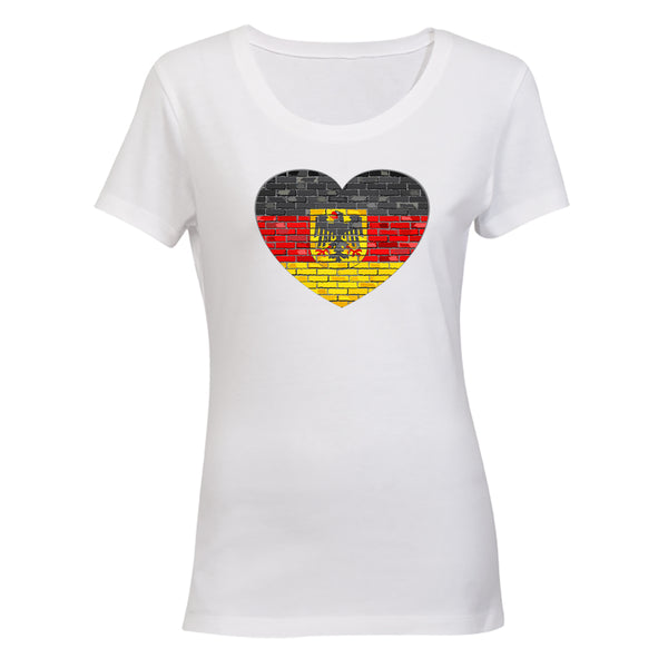German Flag Inspired - Ladies - T-Shirt - BuyAbility South Africa