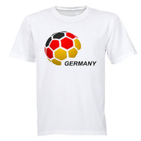 Germany - Soccer Ball - Adults - T-Shirt - BuyAbility South Africa