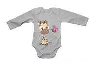 Giraffe & Butterfly - Baby Grow - BuyAbility South Africa