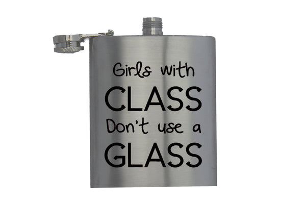 Girls With Class - Hip Flask
