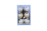Small Christmas Tree Decoration Bauble - (Set of 12)