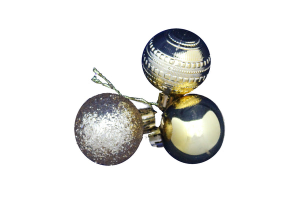 Small Christmas Tree Decoration Bauble - (Set of 12) - BuyAbility South Africa