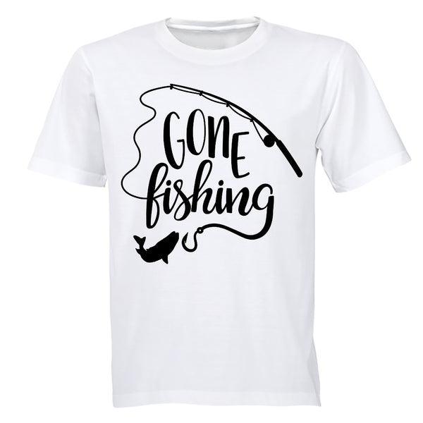 Gone Fishing - Kids T-Shirt - BuyAbility South Africa