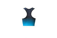 Blue Striped Sports Bra - BuyAbility South Africa