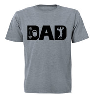 Gym Dad - Adults - T-Shirt - BuyAbility South Africa
