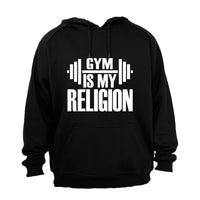 Gym is my Religion - Hoodie - BuyAbility South Africa