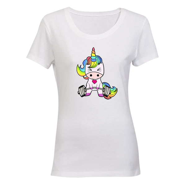 Gym Unicorn - Ladies - T-Shirt - BuyAbility South Africa