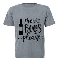 More BOOs Please - Halloween Inspired! - Adults - T-Shirt