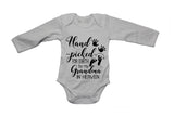 Hand Picked For Earth By My Grandma in Heaven - Baby Grow - BuyAbility South Africa