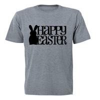 Happy Easter - Bunny Silhouette - Kids T-Shirt - BuyAbility South Africa