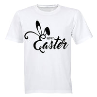Happy Easter - Bunny Ears - Adults - T-Shirt