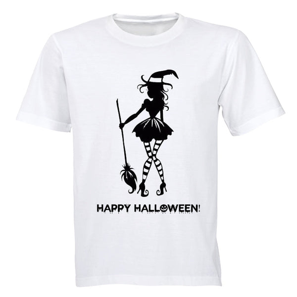 Witch, Happy Halloween - Halloween Inspired! - Adults - T-Shirt
