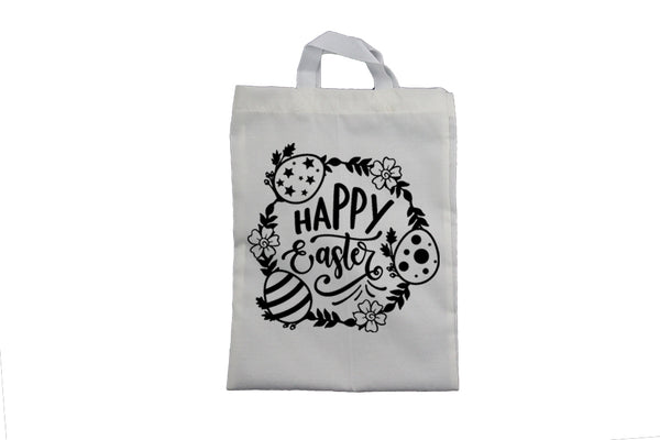 Happy Easter, Circular - Easter Bag - BuyAbility South Africa