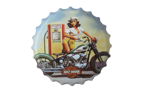 Harley Davidson Bottle Cap Sign - BuyAbility South Africa