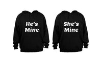 He's Mine - She's Mine - Couples Hoodies (1 Set) - BuyAbility South Africa