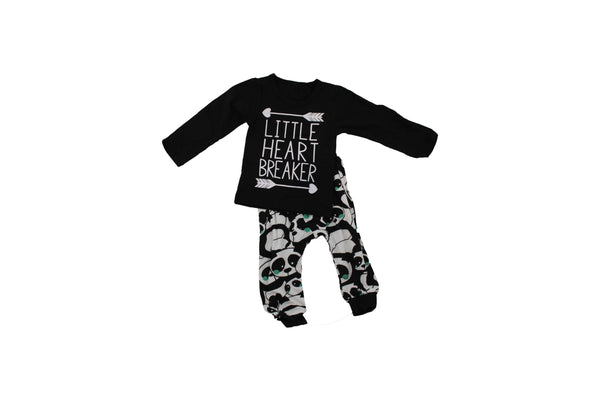 Little Heart Breaker – 2 Piece Outfit - BuyAbility South Africa