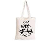 Hello Spring - Eco-Cotton Natural Fibre Bag