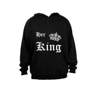 Her King! - Hoodie - BuyAbility South Africa