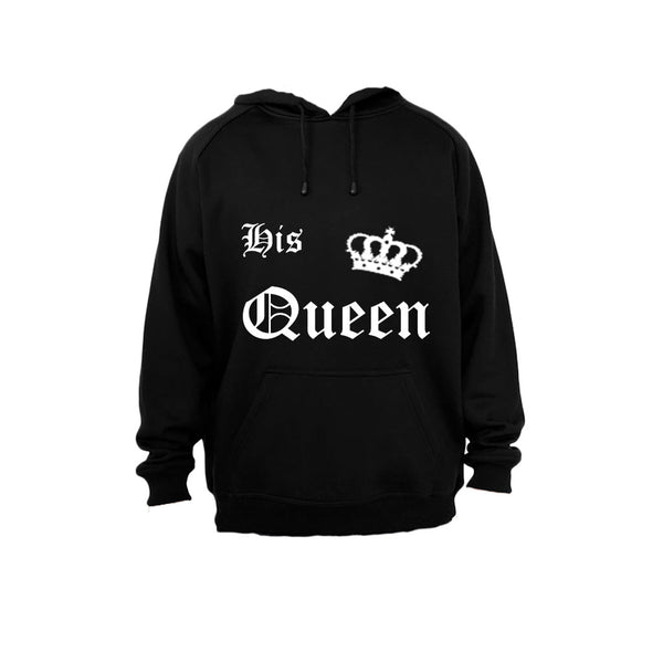 His Queen! - Hoodie - BuyAbility South Africa