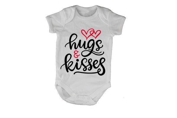 Hugs & Kisses - Valentine Inspired - Baby Grow - BuyAbility South Africa