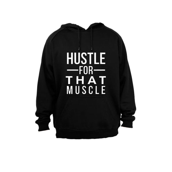 Hustle for that Muscle! - Hoodie - BuyAbility South Africa