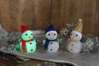 Snow Man Christmas Light Decoration (Standing at 130mm) - BuyAbility South Africa