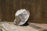 Bowler Hat with Sheep & Bicycle Print - BuyAbility South Africa