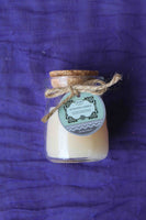 Mini Rustic Scented Candle Jar – Peach, Vanilla Aroma - BuyAbility South Africa