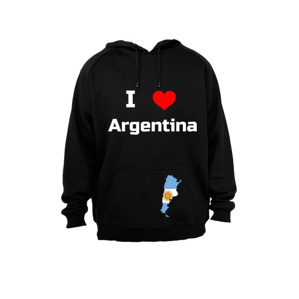 I Love Argentina - Hoodie - BuyAbility South Africa