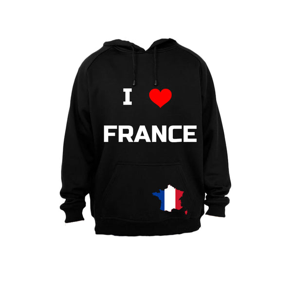 I Love France - Hoodie - BuyAbility South Africa