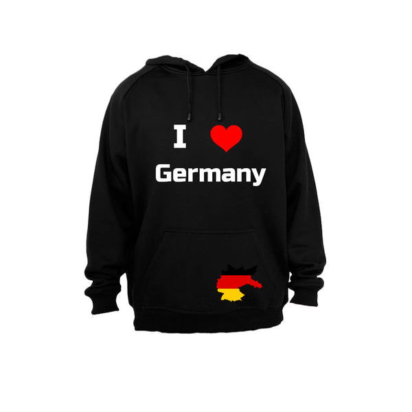 I Love Germany - Hoodie - BuyAbility South Africa