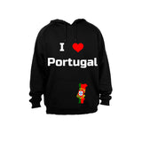 I Love Portugal - Hoodie - BuyAbility South Africa