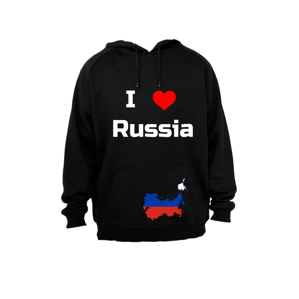 I Love Russia - Hoodie - BuyAbility South Africa