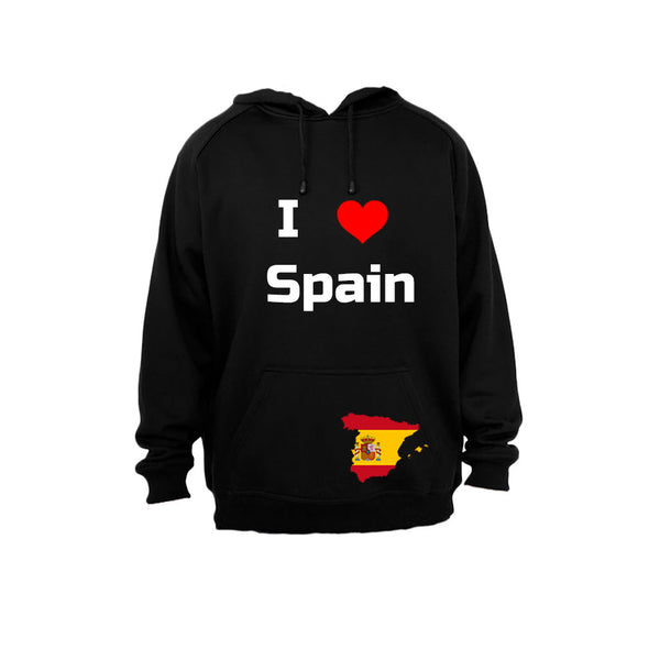 I Love Spain - Hoodie - BuyAbility South Africa
