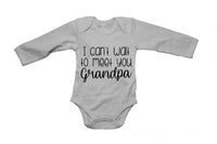 I Can't Wait To Meet You, Grandpa - Babygrow - BuyAbility South Africa
