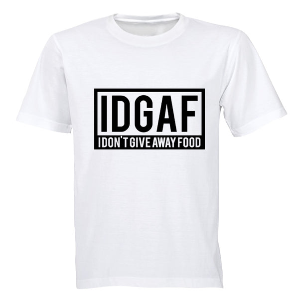 IDGAF - I Don't Give Away Food - BuyAbility South Africa