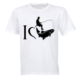 I Love Fishing - Adults - T-Shirt - BuyAbility South Africa