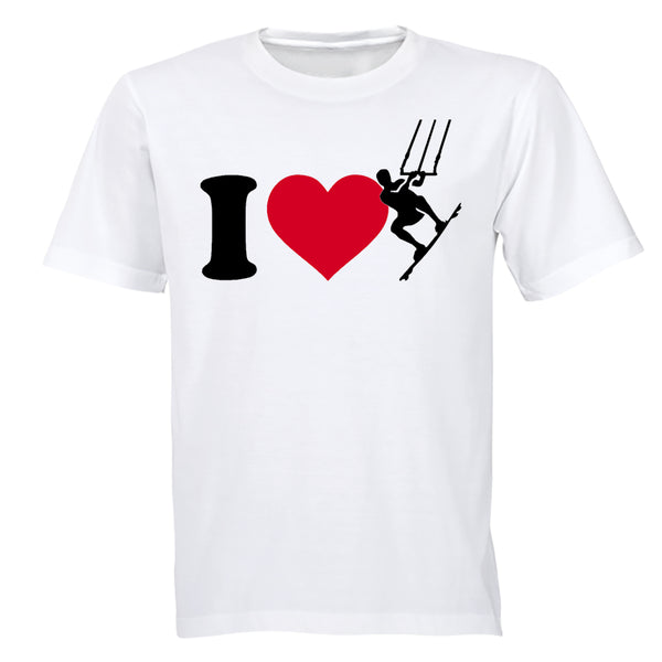 I Love Kite Surfing - Adults - T-Shirt - BuyAbility South Africa