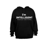 I'm Intelligent - Hoodie - BuyAbility South Africa